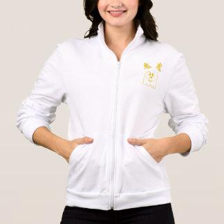 White & Gold 鬼 鬼 Hanes ComfortBlend® Hoodie 3