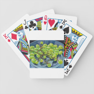 White Grapes Bicycle Playing Cards