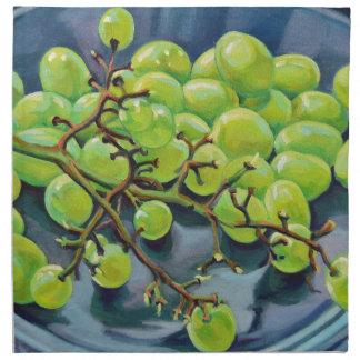 White Grapes Napkin