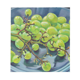 White Grapes Notepad