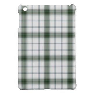 White Green Tartan Plaid Cover For The iPad Mini