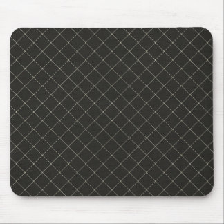 White Grid Mouse Pad