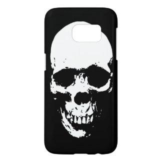 White Grim Reaper Skull