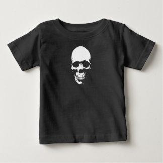 White Grim Reaper Skull Baby T-Shirt