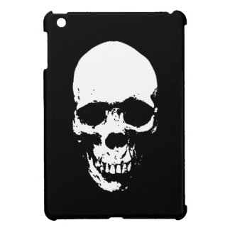 White Grim Reaper Skull iPad Mini Cover