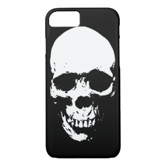 White Grim Reaper Skull iPhone 8/7 Case