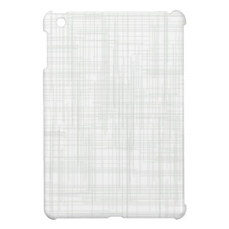 White Grunge Effect Background iPad Mini Cover