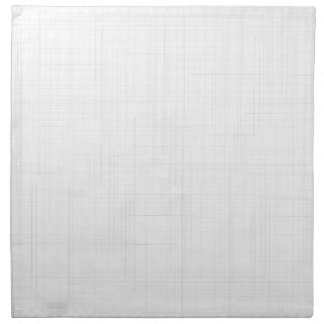 White Grunge Effect Background Napkin