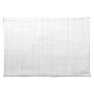 White Grunge Effect Background Placemat