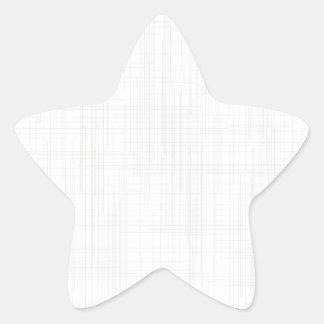 White Grunge Effect Background Star Sticker