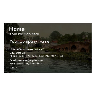 White Hart Hotel, Sonning-on-Thames, England rare Business Card