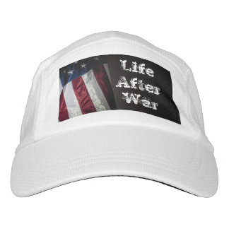 White Hat- Flag- Life After War Hat