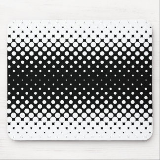 White Holes Background Mouse Pad