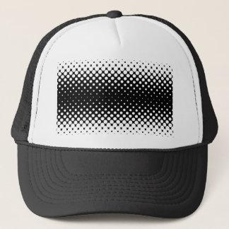 White Holes Background Trucker Hat