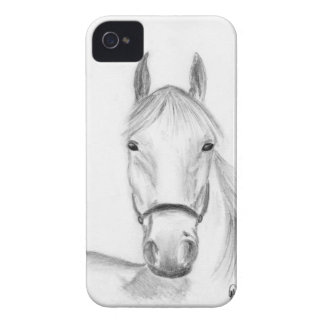 White horse art iPhone 4 covers