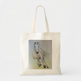 `White Horse' Budget Tote Bag