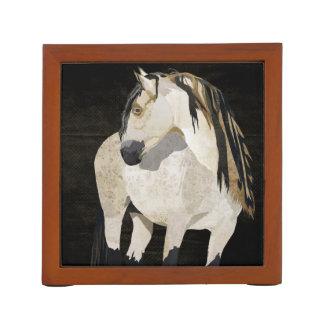 White Horse Desk Organizer