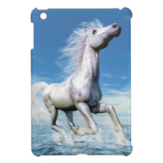 White horse freedom - 3D render Cover For The iPad Mini