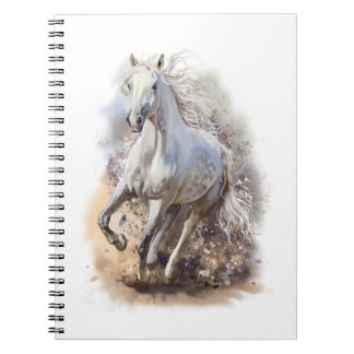 White Horse Gallop Notebook