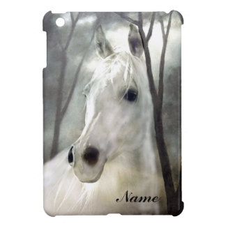 White Horse iPad Mini Cases