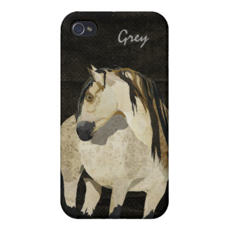 White Horse iPhone Case iPhone 4 Covers