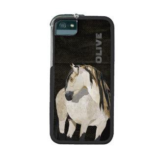 White Horse iPhone Case iPhone 5 Case
