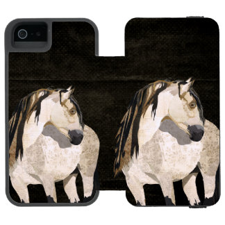 White Horse iPhone Wallet Incipio Watson™ iPhone 5 Wallet Case