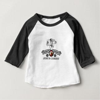 white horse JC fixes Baby T-Shirt
