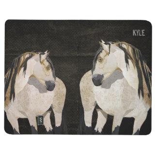 White Horse Pocket Journal