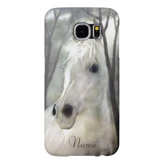 White Horse Samsung Galaxy S6 Cases