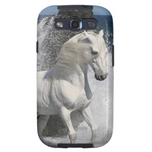 White Horse Surf Samsung Galaxy SIII Covers