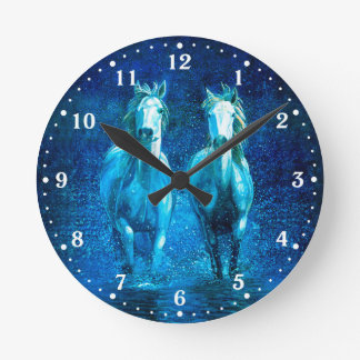 White Horse Wall Clock