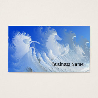 White horses business card