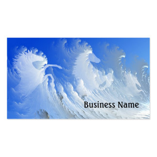 White horses pack of standard business cards