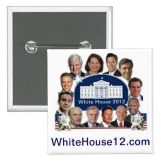 White House 2012 15 Cm Square Badge