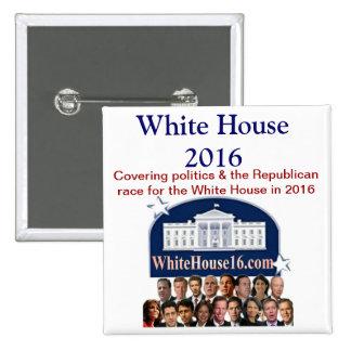 White House 2016 Button