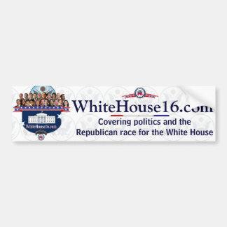 White House 2016 G.O.P. Presidential Candidates Car Bumper Sticker