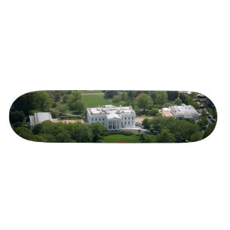 White House Aerial Photograph Skate Deck