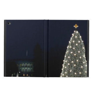 White House and National Tree Christmas Holiday DC Powis iPad Air 2 Case