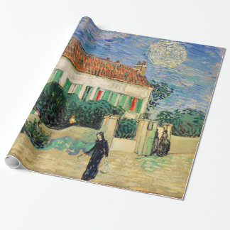 White House at Night by Vincent Van Gogh