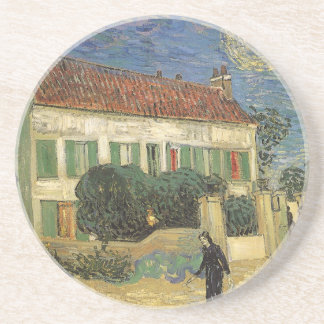 White House at Night by Vincent van Gogh Drink Coaster