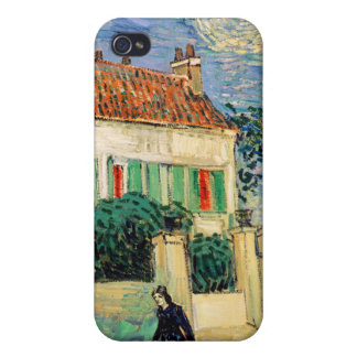 White House at Night, Vincent Van Gogh iPhone 4/4S Cases