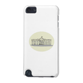 White House Building Oval Drawing iPod Touch 5G Case
