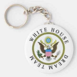 White House Dream Team Key Ring