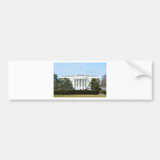 White House From The Lawn Bumper Sticker
