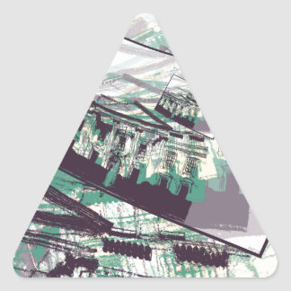 White House Graphic Triangle Sticker