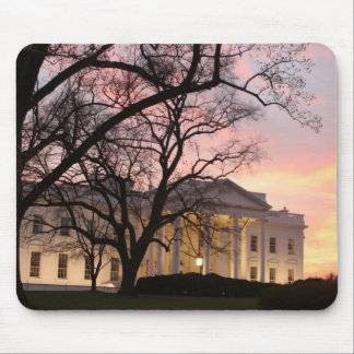 White House Night Scene Mouse Pad