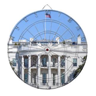 White House of the United States - Washington DC Dartboard