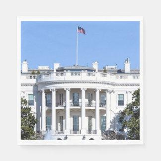 White House of the United States - Washington DC Paper Napkin