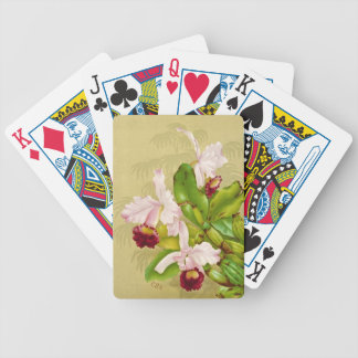 White House Orchid 1892 Bicycle Playing Cards